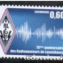 Sellos: LUXEMBURGO 2012. RADIOAFICIONADOS DE LUXEMBURGO. Lote 159569194