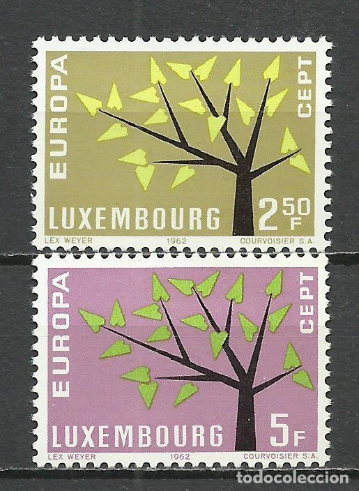 LUXEMBURGO - 1962 - MICHEL 657/658** MNH (Sellos - Extranjero - Europa - Luxemburgo)
