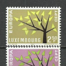 Sellos: LUXEMBURGO - 1962 - MICHEL 657/658** MNH. Lote 194194267
