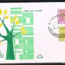 Sellos: [CF5190A] LUXEMBURGO 1962, FDC SERIE EUROPA (NS). Lote 164880850
