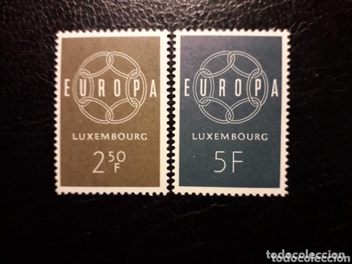 LUXEMBURGO YVERT 567/8 SERIE COMPLETA NUEVA SIN CHARNELA. EUROPA CEPT. (Sellos - Extranjero - Europa - Luxemburgo)