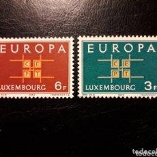 Sellos: LUXEMBURGO YVERT 634/5 SERIE COMPLETA NUEVA SIN CHARNELA. EUROPA CEPT.. Lote 173682799