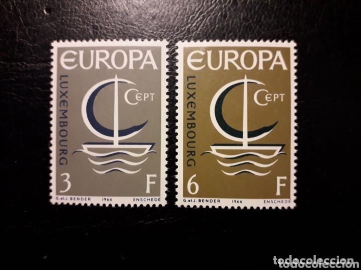 LUXEMBURGO YVERT 684/5 SERIE COMPLETA NUEVA SIN CHARNELA. EUROPA CEPT. (Sellos - Extranjero - Europa - Luxemburgo)
