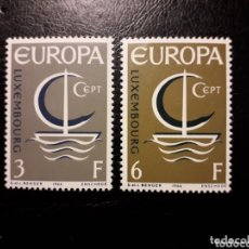 Sellos: LUXEMBURGO YVERT 684/5 SERIE COMPLETA NUEVA SIN CHARNELA. EUROPA CEPT.. Lote 173682838