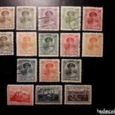 Sellos: LUXEMBURGO YVERT 119/34 SERIE COMPLETA MAYORÍA NUEVA CON CHARNELA.1 SELLO DESCARNADO NO CONTADO.. Lote 173823400