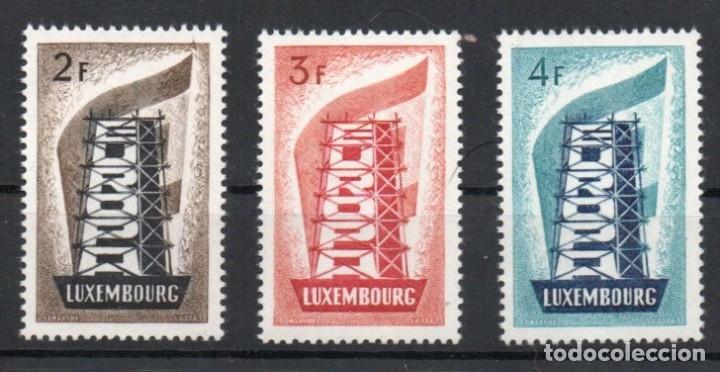 LUXEMBURGO AÑO 1956 YV 514/16*** EUROPA (Sellos - Extranjero - Europa - Luxemburgo)