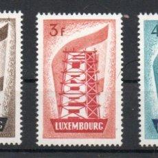 Sellos: LUXEMBURGO AÑO 1956 YV 514/16*** EUROPA. Lote 178383512