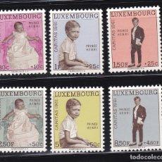 Sellos: LUXEMBURGO 1961 BENEFICIENCIA CARITAS NUEVOS ** (NMH) - LOTE - 85 - E. Lote 179050191
