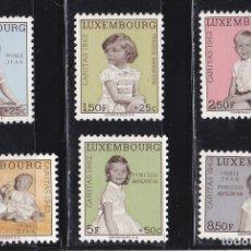 Sellos: LUXEMBURGO 1962 BENEFICIENCIA CARITAS NUEVOS ** (NMH) - LOTE - 85 - F. Lote 179050246