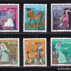 Sellos: LUXEMBURGO 1966 BENEFICIENCIA CARITAS NUEVOS ** (NMH) - LOTE - 86 - E. Lote 179050672
