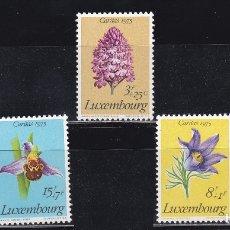 Sellos: LUXEMBURGO 1975 BENEFICIENCIA CARITAS NUEVOS ** (NMH) - LOTE - 86 - B. Lote 179050751