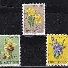 Sellos: LUXEMBURGO 1976 BENEFICIENCIA CARITAS NUEVOS ** (NMH) - LOTE - 86 - C. Lote 179050778