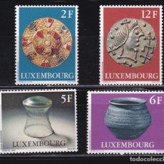 Sellos: LUXEMBURGO 1975 PALEONTOLOGIA NUEVOS ** (NMH) - LOTE - 86 - G. Lote 179050906
