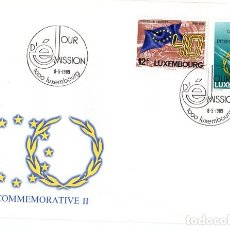 Sellos: LUXEMBOURG COMMEMORATIVE II *** 8 MAYO 1989. Lote 181210625