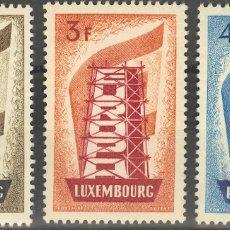 Sellos: LUXEMBURGO. MH *YV 514/16. 1956. SERIE COMPLETA. MAGNIFICA. YVERT 2012: 175 EUROS. REF: 6425. Lote 183105396