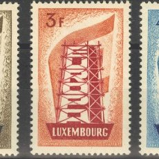 Sellos: LUXEMBURGO. MH *YV 514/16. 1956. SERIE COMPLETA. MAGNIFICA. YVERT 2012: 175 EUROS. REF: 6424. Lote 183105430