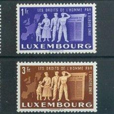 Sellos: LUXEMBURGO. MH *YV 443/48. 1951. SERIE COMPLETA. MAGNIFICA. YVERT 2013: 140 EUROS. REF: 42377. Lote 183123207