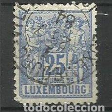 Sellos: LUXEMBURGO 1882 --USADO- SERIE BASICA. Lote 183194785