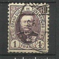 Sellos: LUXEMBURGO 1891 --USADO- GRAN DUQUE DE LUXEMBURGO. Lote 183197671