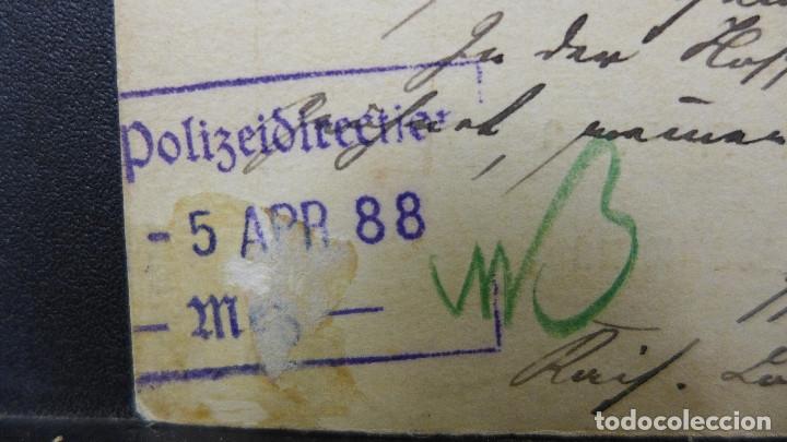 Sellos: ENTERO POSTAL DE LUXEMBURGO CIRCULADO AÑO 1888 - Foto 4 - 183206881