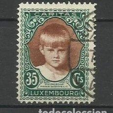 Sellos: LUXEMBURGO 1929 - USADO- MARIAGABRIELA DE LUXEMBURGO. Lote 183327886