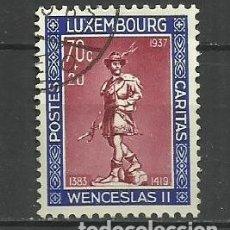 Sellos: LUXEMBURGO 1937 - USADO- DUQUE DE WENCELLAO II. Lote 183328780