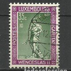 Sellos: LUXEMBURGO 1937 - USADO- DUQUE DE WENCELLAO II. Lote 183328803
