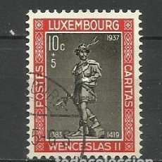 Sellos: LUXEMBURGO 1937 - USADO- DUQUE DE WENCELLAO II. Lote 183328988