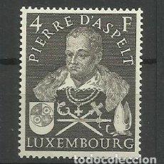 Sellos: LUXEMBURGO 1953 - NUEVO CON FIJASELLO-CENTENARIO NACIMIENTO PRINCIPE PIERRE D'ASPELT. Lote 183393181