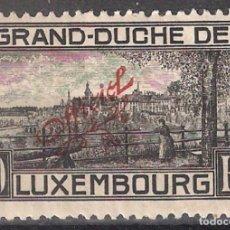 Sellos: LUXEMBURGO 1922 10 FR. * - 8/4. Lote 184184013