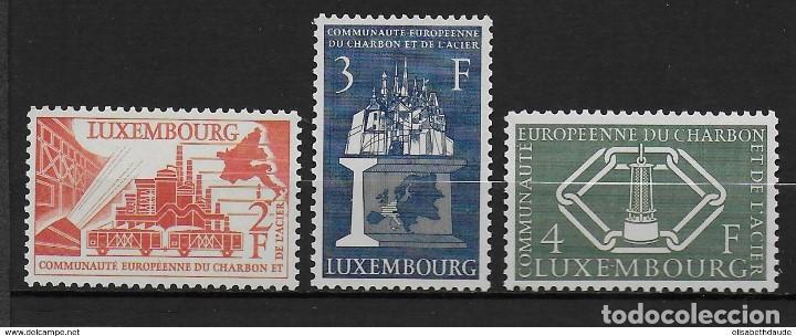 SELLOS NUEVOS DE LUXEMBURGO, YT 511/ 13 (Sellos - Extranjero - Europa - Luxemburgo)