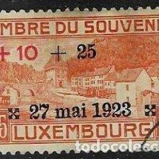 Sellos: SELLO USADO DE LUXEMBURGO YT 138, FOTO ORIGINAL. Lote 194873691