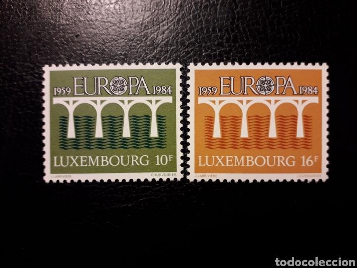 LUXEMBURGO YVERT 1048/9 SERIE COMPLETA NUEVA ***. EUROPA CEPT. PUENTES. (Sellos - Extranjero - Europa - Luxemburgo)