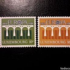 Sellos: LUXEMBURGO YVERT 1048/9 SERIE COMPLETA NUEVA ***. EUROPA CEPT. PUENTES.. Lote 194963028