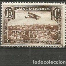 Sellos: LUXEMBURGO CORREO AEREO YVERT NUM. 2 * NUEVO CON FIJASELLOS. Lote 195421983