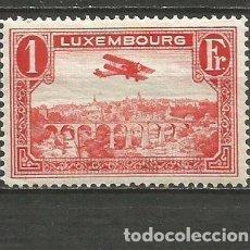 Sellos: LUXEMBURGO CORREO AEREO YVERT NUM. 3 * NUEVO CON FIJASELLOS. Lote 195422296