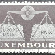 Sellos: 1951. LUXEMBURGO. 445. TEMA EUROPA. CAMPAÑA 'EUROPA UNIDA'. USADO.. Lote 202939076