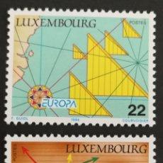 Sellos: LUXEMBURGO, EUROPA Y LOS DESCUBRIMIENTOS 1994, MNG (FOTOGRAFÍA REAL). Lote 203344303