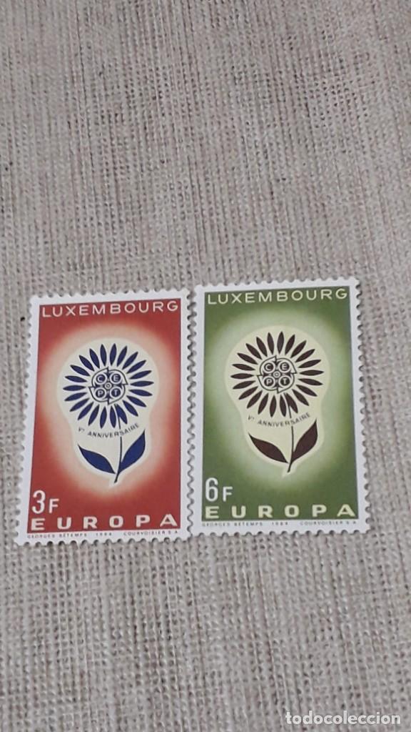 SELLOS LUXEMBURGO -EUROPA 1964 (Sellos - Extranjero - Europa - Luxemburgo)