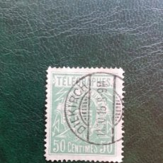 Sellos: LUXEMBURGO 1915 TELEGRAPHES 50 CENTIMES. Lote 204528995