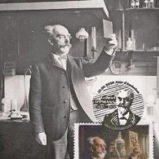 Sellos: LUXEMBOURG 2020 - 175TH BIRTHDAY OF GABRIEL LIPPMANN MAXIMUM CARD. Lote 205008611