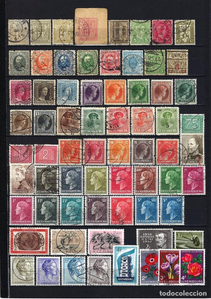 LOTE SELLOS DE LUXEMBURGO DE 1882 A 1956 (Sellos - Extranjero - Europa - Luxemburgo)
