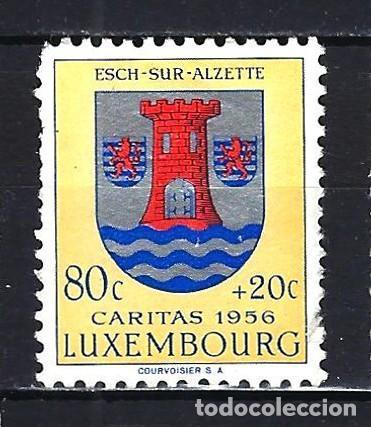 1956 LUXEMBURGO MICHEL 562 YVERT 521 - ESCUDO - CÁRITAS - MNH* NUEVO SIN FIJASELLOS (Sellos - Extranjero - Europa - Luxemburgo)