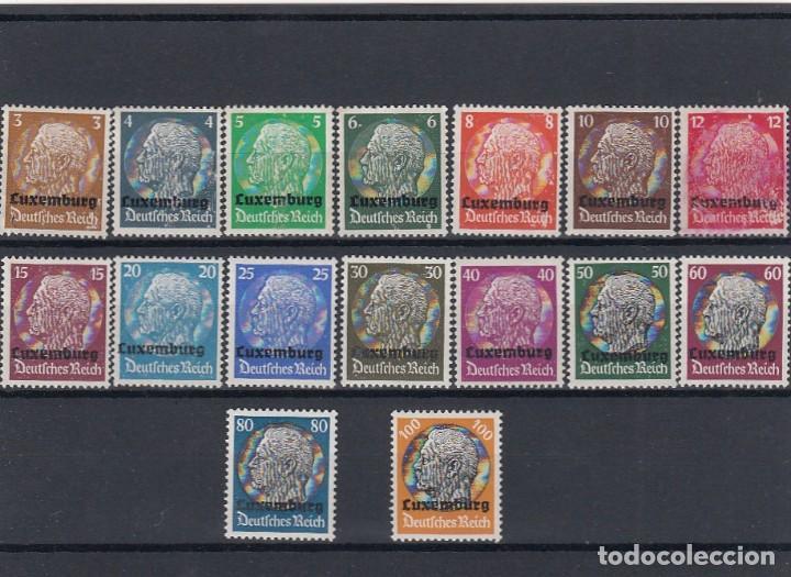 Sellos: Colección de sellos de Luxemburgo. Usados y algunos nuevos con charnelas. - Foto 6 - 210180830