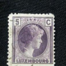 Sellos: LUXENBURGO, 5C, GRAND DUCHY, AÑO 1928.. Lote 217371032