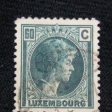 Sellos: LUXENBURGO, 60C, GRAND DUCHY, AÑO 1927.. Lote 217373042