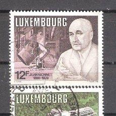 Sellos: LUXEMBURGO Nº 1157/1158º ANIVERSARIOS EUROPEOS. SERIE COMPLETA. Lote 221954870