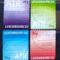 Sellos: LUXEMBURGO 2008 DISEÑO INFANTIL SERIE DE SELLOS USADOS. Lote 221983733