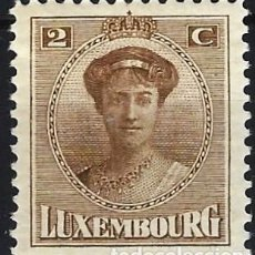 Timbres: LUXEMBURGO 1921-22 - GRAN DUQUESA CARLOTA - MH*. Lote 222887632