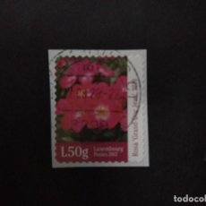 Timbres: LUXEMBURGO 2017. ROSE - GRAND DUKE JEAN. Lote 225075645